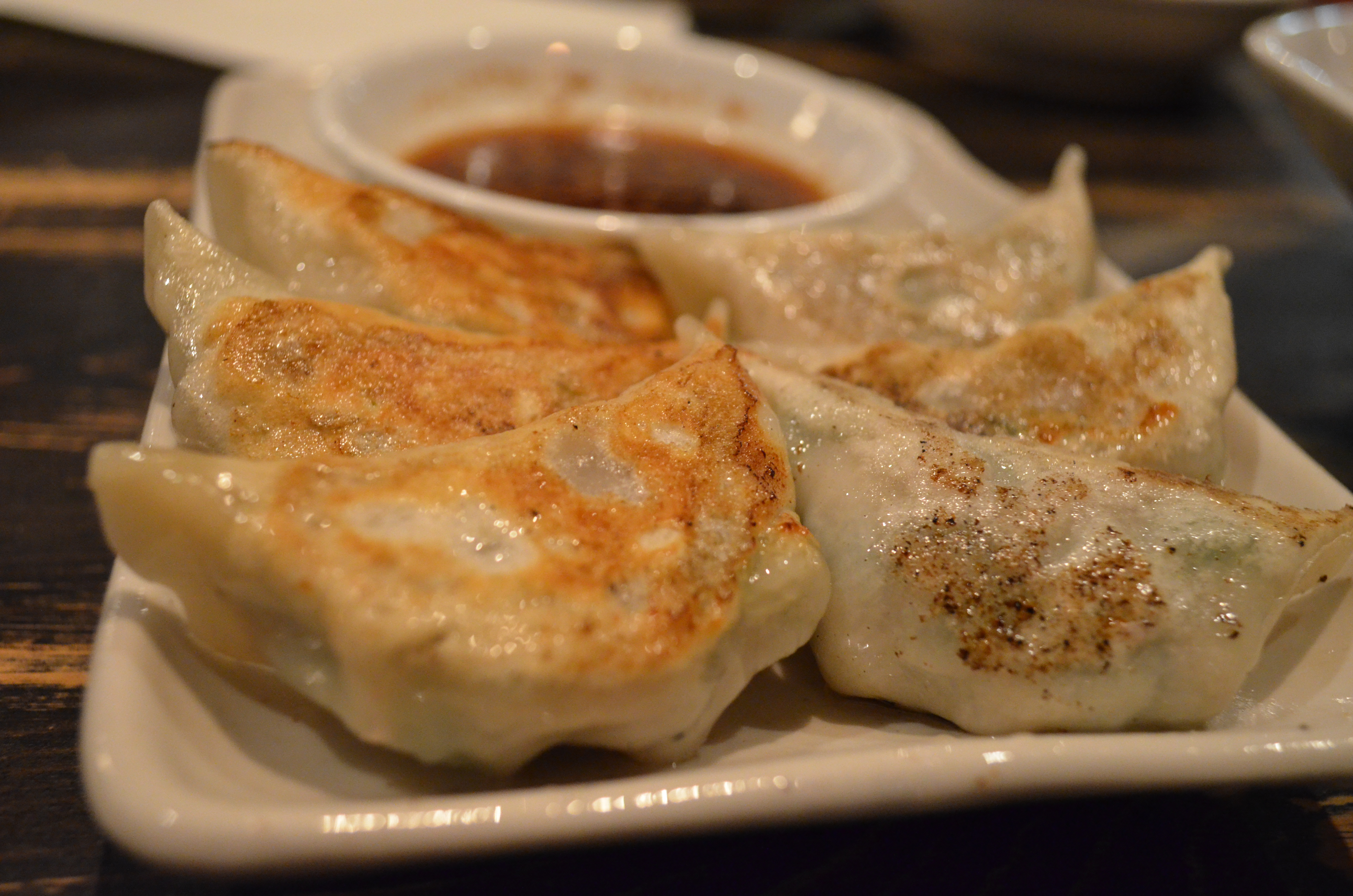 Pan Fried Chicken Gyoza (6 Pieces)