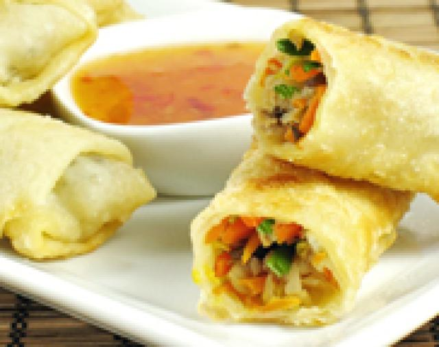 Vegetable Spring Rolls (3 Pieces)