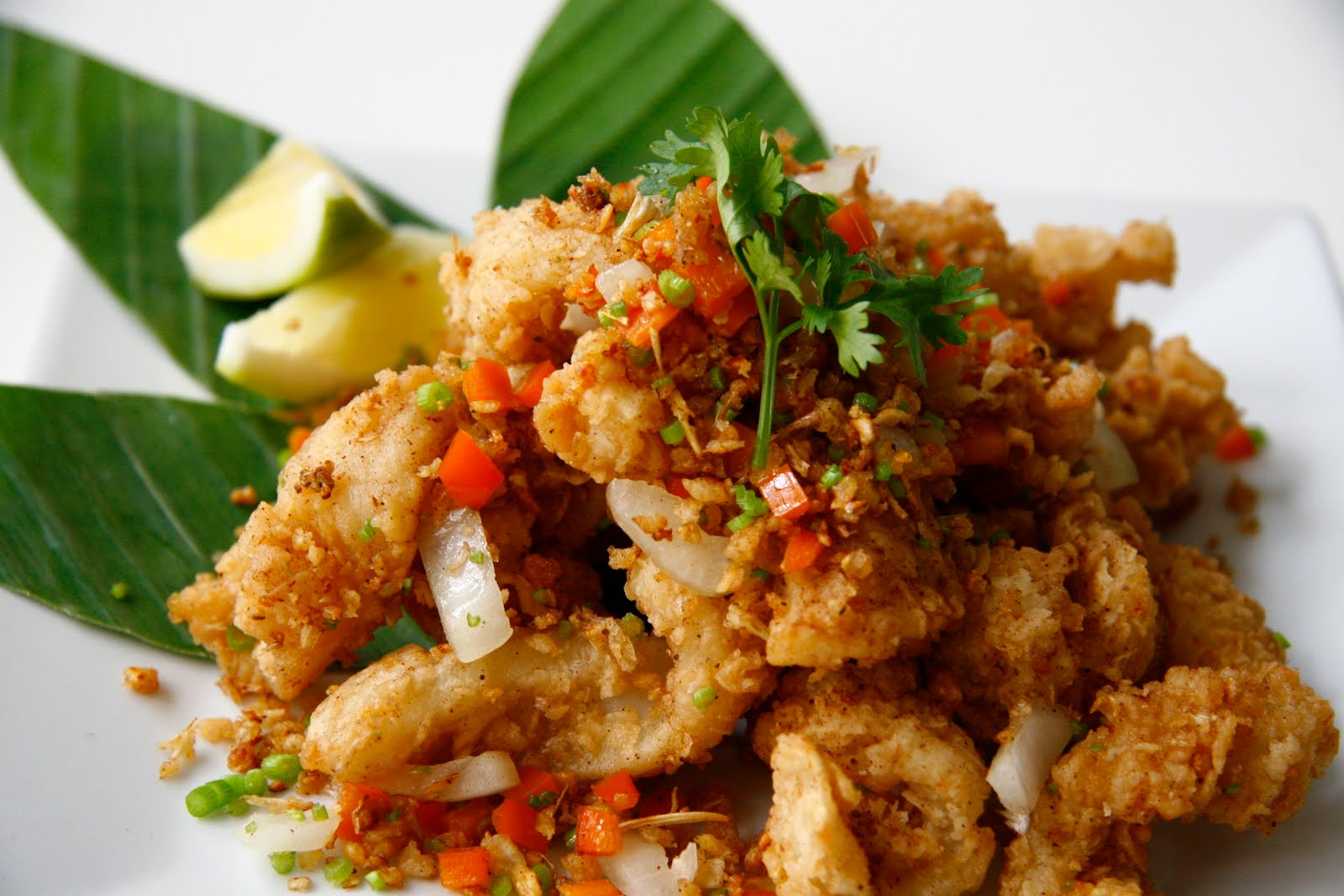 Spicy Lightly Breaded Calamari