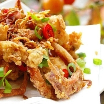 Spicy Soft Shell Crab (Whole Crab)