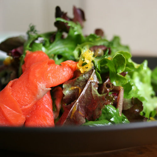 Smoke Salmon Salad