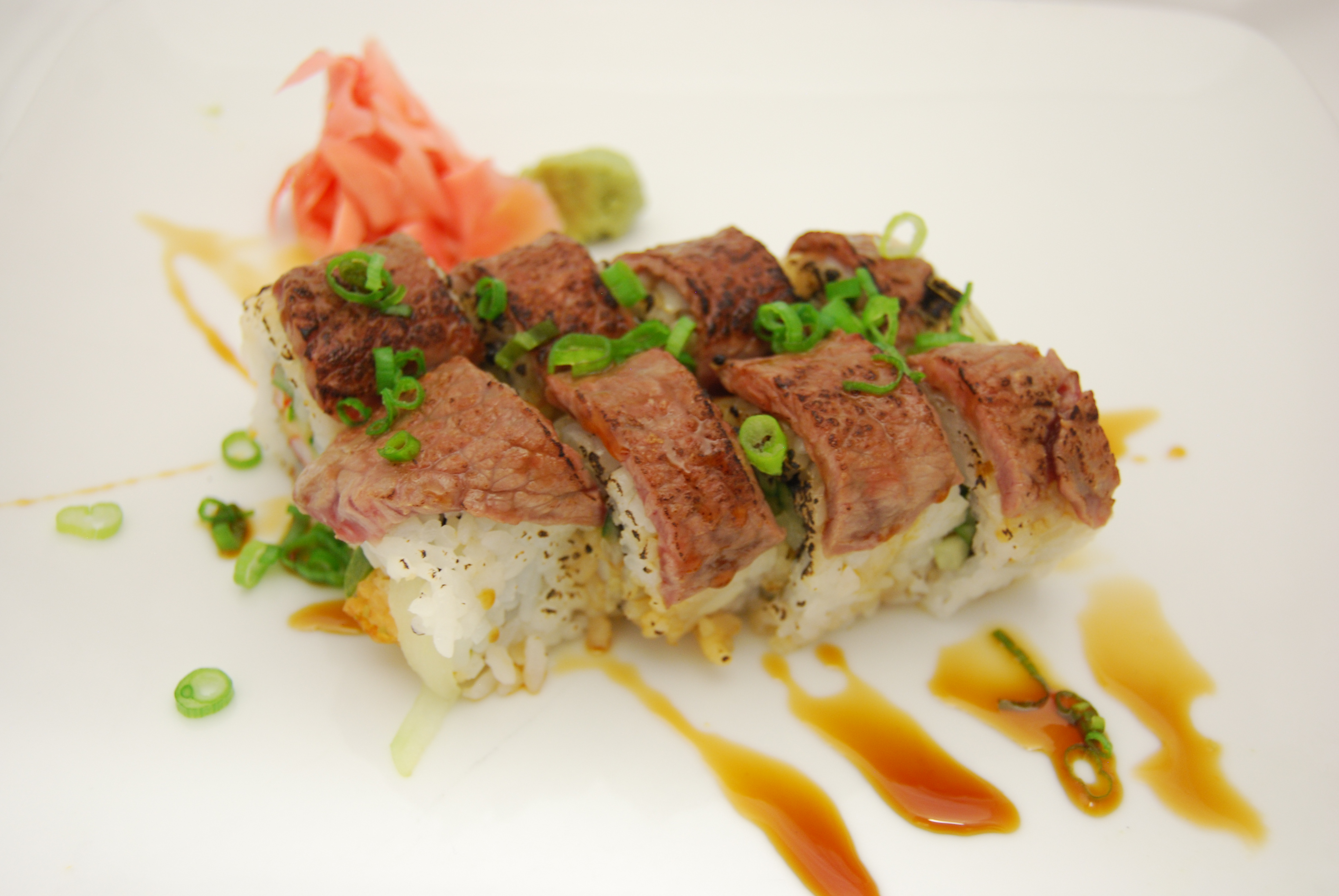 Seared New York Steak Roll