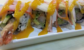 Tropical Dragon Roll