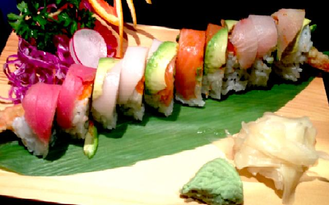 Rainbow Dragon Roll