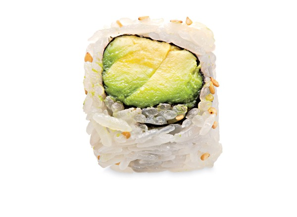 Avocado Maki (6)(Rice Outside)