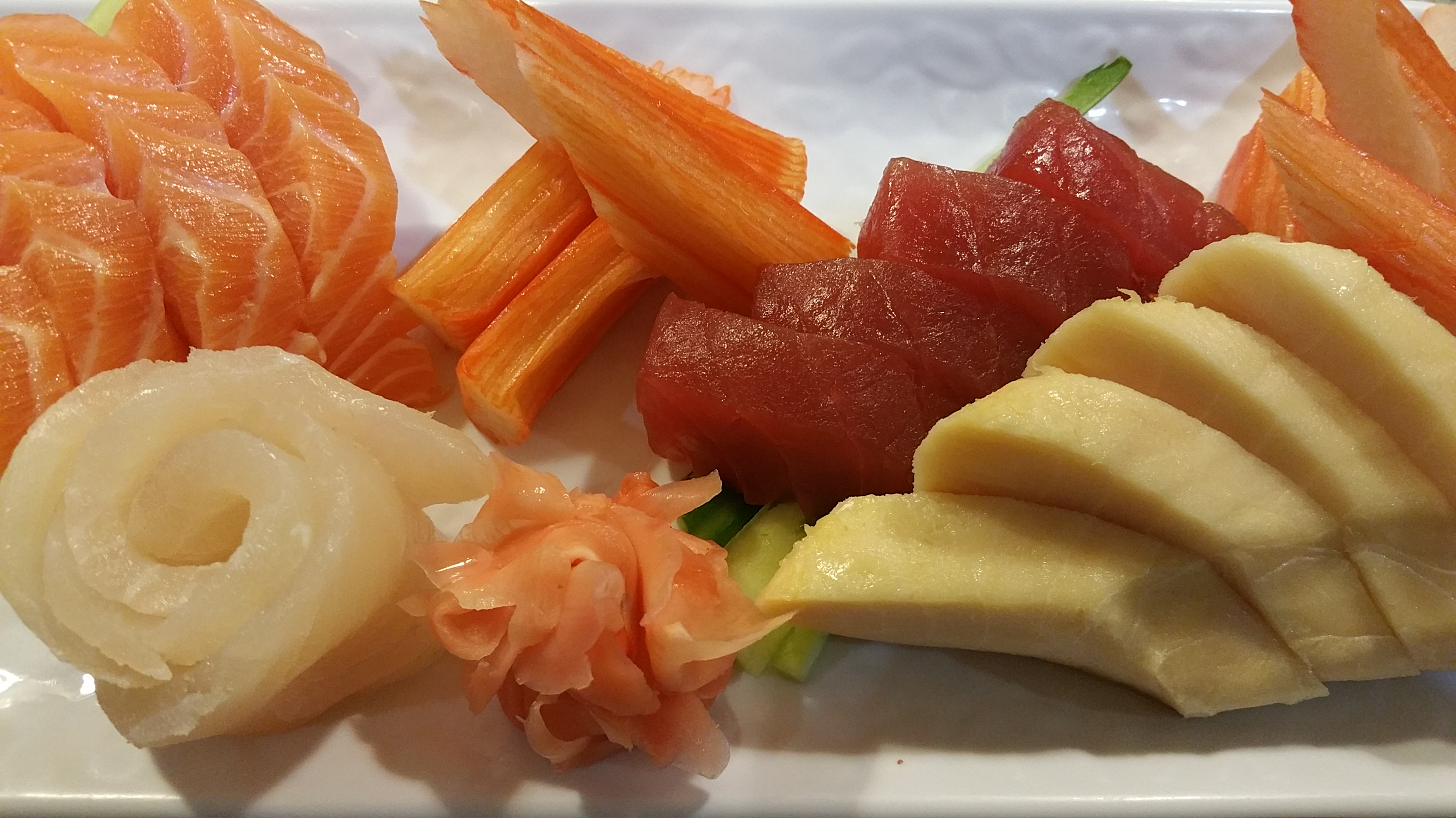 Sashimi Gold (20 Pieces)